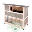 Клетка Ranch 120 Max для содержания кроликов на улице, деревянная - общий вид