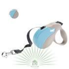 Рулетка со сменной крышкой Amigo Tape mini бежево-голубая