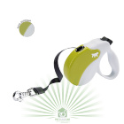 Рулетка со сменной крышкой Amigo Tape mini бело-зеленая