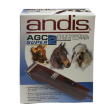 Машинка для стрижки собак и кошек Andis AGC 2 Super Red - упаковка