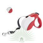 Рулетка со сменной крышкой Amigo Tape mini бело-красная