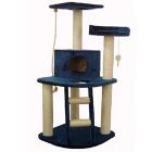 Дом-когтеточка для кошек Арт. 2033 Синий