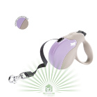 Рулетка со сменной крышкой Amigo Tape Small бежево-фиолетовая