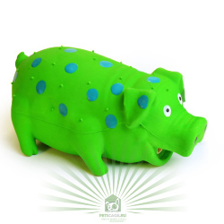 Игрушка для собак Loofa Поросенок в горошек