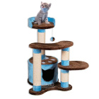 Дом-когтеточка для кошек Арт. Tree123 Синий