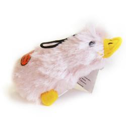 Игрушка для собак Loofa Утка цветная малая