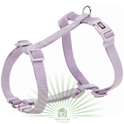 Шлейка Premium H-harness, L–XL: 75–120 см/25 мм, светло-сиреневая, Trixie 203525