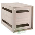Дом для собак деревянный серый Ferplast Dog Home Medium