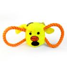 Игрушка для собак Loofa Морда собаки с канатами