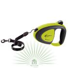 Рулетка-поводок Flippy Tech Cord Small зеленая (модель: 75010023)