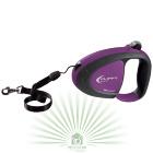 Рулетка-поводок Flippy Tech Cord Small фиолетовая
