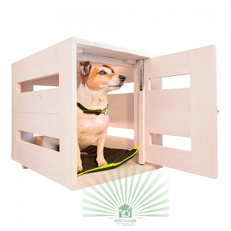 Дом для собак деревянный белый Ferplast Dog Home Small