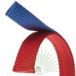 Ошейник Dual Pyramids CF 20/43 сине-красный -  Ошейник DUAL PYRAMIDS CF 20/43 сине-красный - двойной нейлон