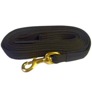 Поводок профессиональный с латексом карабин бронзовый 2 м