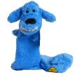 Игрушка для собак Loofa Собака полая большая - общий вид, синяя
