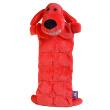 Игрушка для собак Loofa Собака - коврик - общий вид, красная