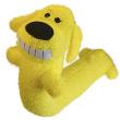 Игрушка для собак Loofa Собака МАКСИ - общий вид, желтая