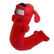 Игрушка для собак Loofa Собака МАКСИ - общий вид, красная