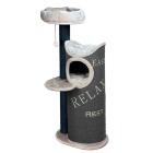 44425 Дом для кошек Trixie Juana серый