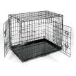 Клетка для собак Axsel Fox №3 - общий вид, черная
