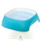 Миска пластиковая GLAM SMALL 0.75 л голубая