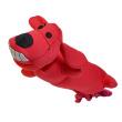 Игрушка для собак Loofa Собака летающая - общий вид, красная