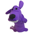 Игрушка для собак Loofa Собака летающая - общий вид, фиолетовая