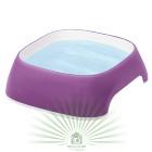 Миска пластиковая GLAM SMALL 0.75 л фиолетовая