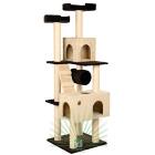 44081 Дом для кошек Trixie Mariela коричневый/бежевый