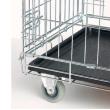 Колеса для клеток металлических Савик, Артеро, Триол и Тессоро - монтаж колеса