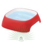 Миска пластиковая GLAM SMALL 0.75 л красная