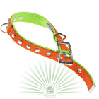 Ошейник Dual Diamonds CF 20/43 оранжево-зеленый